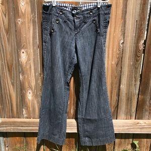 Freestyle Revolution Unique Lace Up Back Jeans